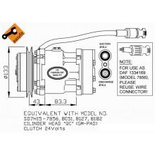 Компрессор кондиционера для DAF XF95