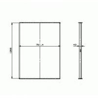 Соты радиатора охлаждения DAF XF95 (97-05)