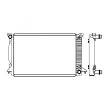 Радиатор AUDI A4 (B6) 2.5TDI 00-06г.630X412X32 АКП