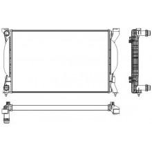 Радиатор AUDI A4 1.6 1.8T 2.0FSI 00- 630Х412