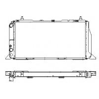 Радиатор охлаждения AUDI 100 (C3)  600Х307 AC+ 4целиндра