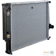 Радиатор BMW E30 85-91 E36 93-99 550Х430 АКП