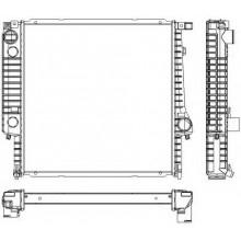 Радиатор BMW E30 85-91 440Х440  мех АС+