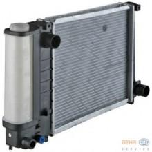 Радиатор BMW E30 87-93 380Х330 мех АС-