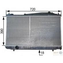 Радиатор CHEVROLET EVANDA  700Х374Х18  МКП