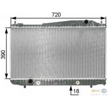 Радиатор CHEVROLET EVANDA АКП 700 X 374 X 18 mm