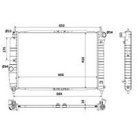 Радиатор CHEVROLET AVEO  600Х430 МКП