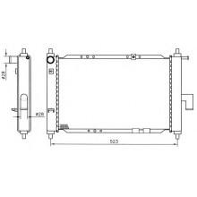 Радиатор DAEWOO MATIZ 0.8 -1.0 458Х295