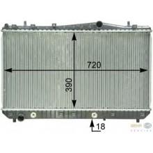 Радиатор CHEVROLET TACUMA 700Х370 АКП