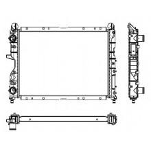 Радиатор ALFA ROMEO 155,FIAT TEMPRA TIPO,LANCIA DEDRA, 88-99 498X377X34