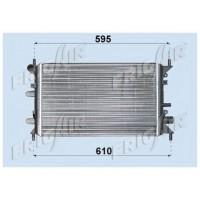 Радиатор FORD ESCORT 94-95 1,4 500Х320