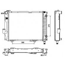 Радиатор MERCEDES 124E 84-93 2,6-3,2 450Х370 АКП  AC-