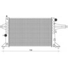 Радиатор OPEL ASTRA G 1.4-1.6-1.8-2.0 540Х378 МКП АС-