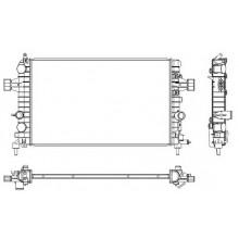 Радиатор охлаждения OPEL ASTRA G, ASTRA H 1.6-1.8 04-, 63028A (NISSENS), 600X370