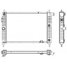 Радиатор  OPEL KADETT E 1.6-1.7D 520X370