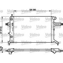 Радиатор OPEL ASTRA G 1.4-1.6-1.8-2,0 540Х378 АКП АС-
