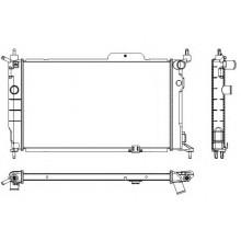 Радиатор для Оpel Astra F 1,6-2.0i MKП АС-