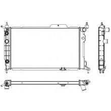 Радиатор для OPEL ASTRA F 1,6-2.0i АКП AC+