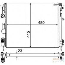Радиатор RENAULT KANGOO CLIO 1.2-1.9 97- 480X415