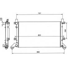 Радиатор для VW LT II 28-46 96-06