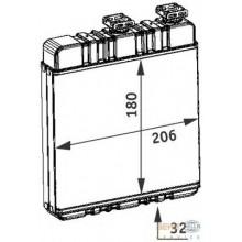 Радиатор печки для OPEL ASTRA G, ZAFIRA A