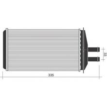 Радиатор печки SKODA FELICIA 94-98 - 73655 (NISSENS), 260Х140
