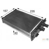 Радиатор печки VW TRANSPORTER Т4 - 73974 (NISSENS), 235Х157, дополнительная печка