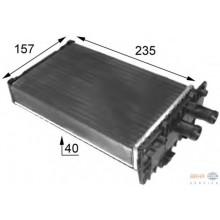 Радиатор печки для VW TRANSPORTER Т4 (дополнительная печка)