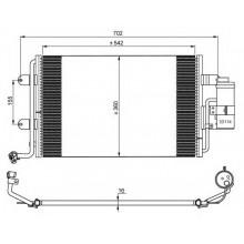 Радиатор кондиционера  VW GOLF 4 BORA SKODA OCTAVIA 590X361