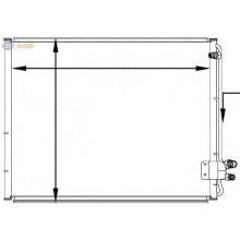 Радиатор кондиционера E-CLASS  W210 622X480