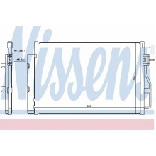 Радиатор кондиционера CHEVROLET AVEO T300 2011-, 940246 (NISSENS)