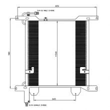 Радиатор кондиционера 95 XF