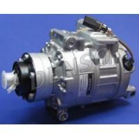 Компрессор кондиционера AUDI A8, ALLROAD, Q7, R8 VW TOUAREG без шкива - DCP02053 (DENSO)