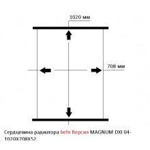 Сердцевина радиатора для RENAULT MAGNUM DXI 04