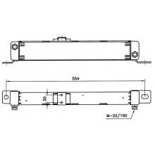 Масляный радиатор охлаждения MERCEDES T1 207-410