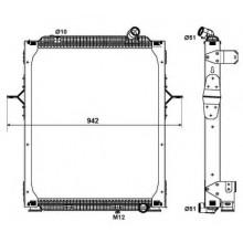 Радиатор в cборе PREMIUM 05- 810X708X52