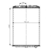 Радиатор охлаждения для DAF XF105