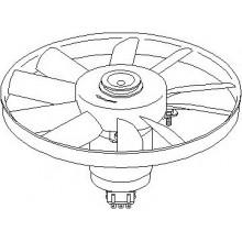 Вентялатор радиатора охлаждения SEAT, VW (GMP)