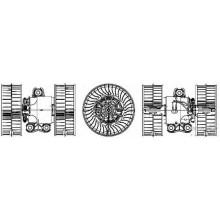 Мотор печки MERCEDES VIANO / VITO (POLCAR)