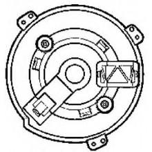 Мотор печки FIAT DUCATO (POLCAR)