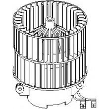 Мотор печки OPEL ASTRA F / VECTRA A / CALIBRA A (GMP)