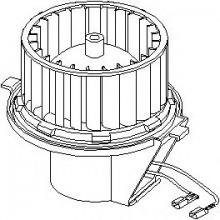 Мотор печки SEAT TOLEDO, VW JETTA, VW GOLF (DTW)