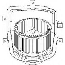 Мотор печки SEAT, VW (POLCAR)