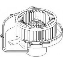 Мотор печки VW, SKODA, SEAT (POLCAR)