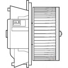 Мотор печки FIAT PUNTO, FIAT DOBLO (POLCAR)