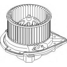 Мотор печки AUDI 80, AUDI A4 (POLCAR)