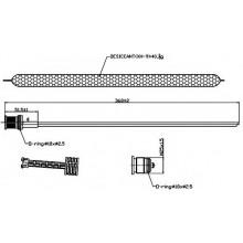 Осушитель кондиционера MERCEDES C-CLASS W204 (DENSO)