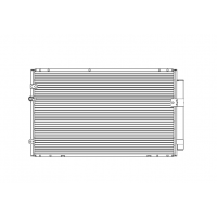 Радиатор кондиционера TOYOTA CAMRY 30 CD010290A
