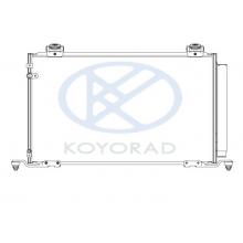 Радиатор кондиционера Toyota Avensis T25 03 - 08 Koyorad