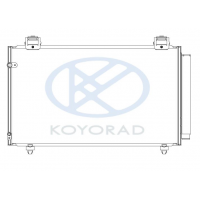 Радиатор кондиционера Toyota Corolla E12 02 - 07 Koyorad